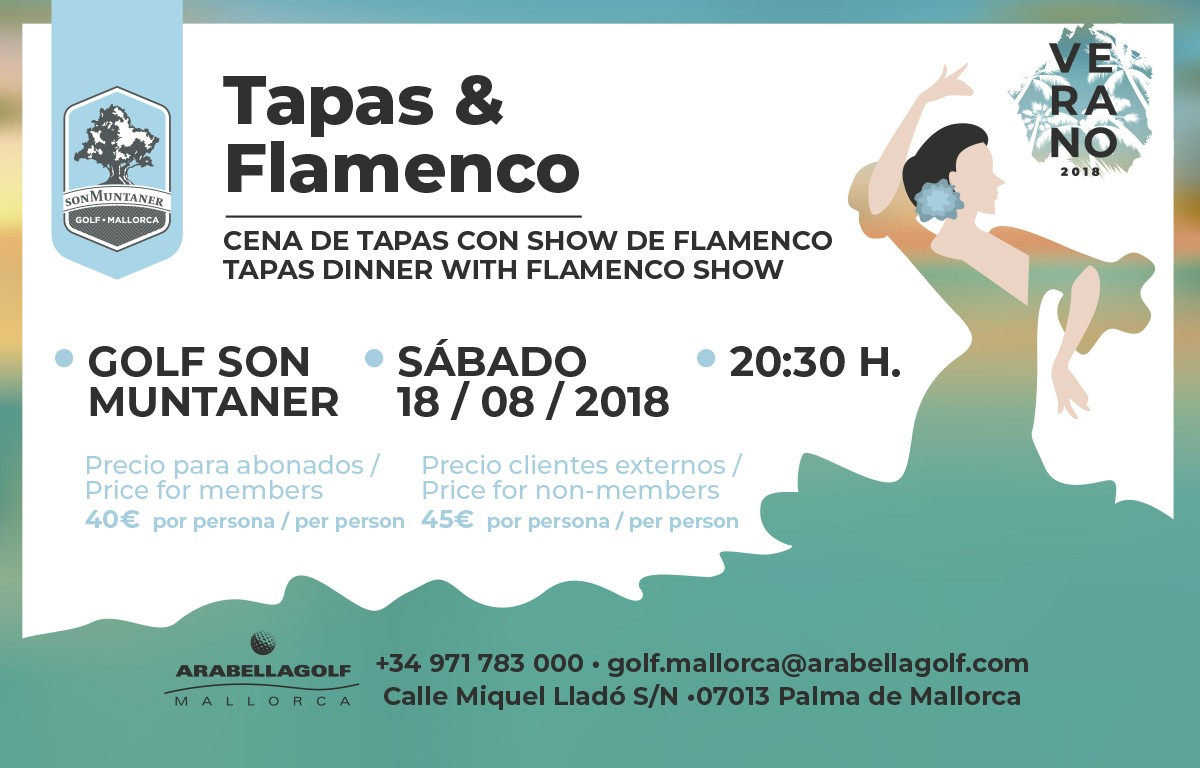 Tapas dinner with flamenco show