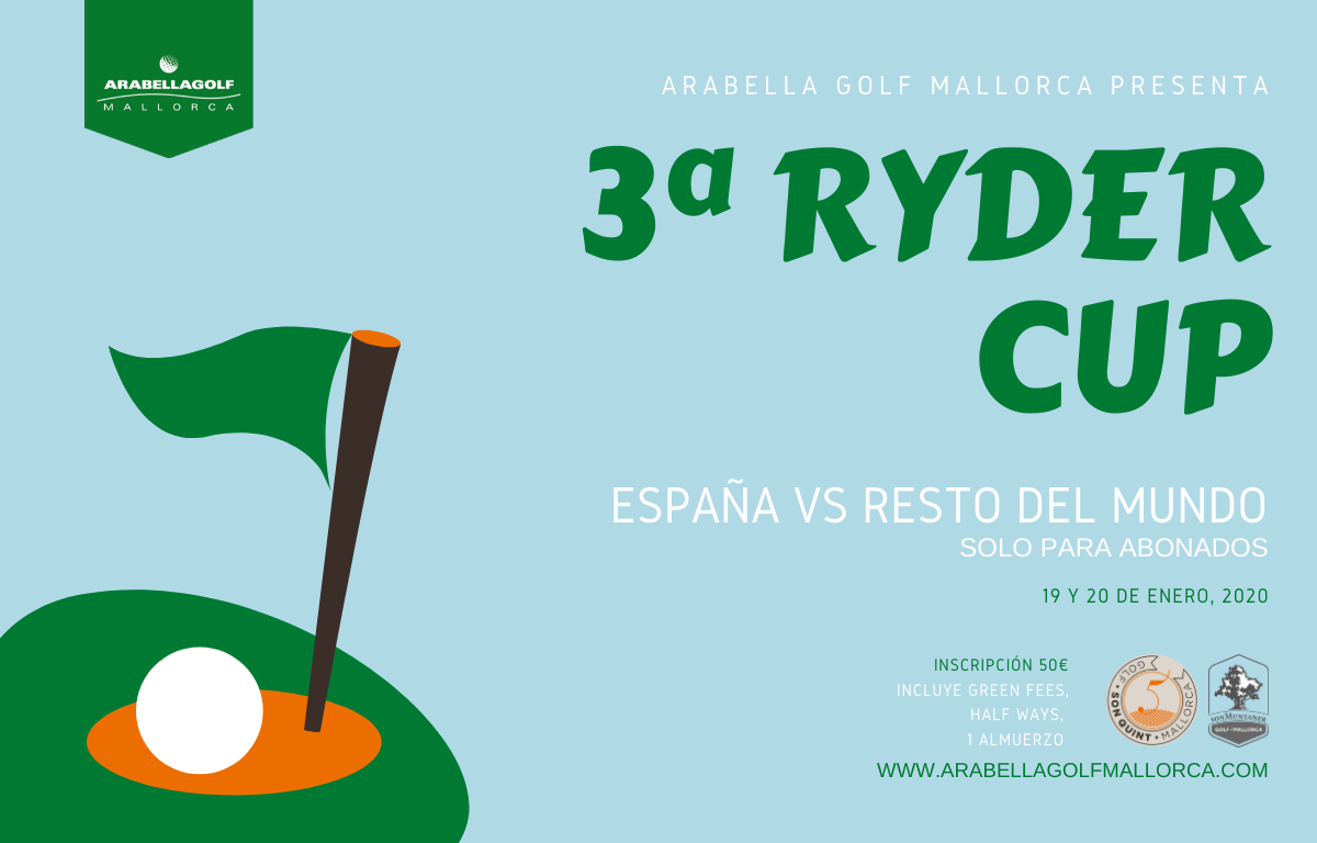 3rd MEMBER'S RYDER CUP SPAIN VS. REST OF THE WORLD