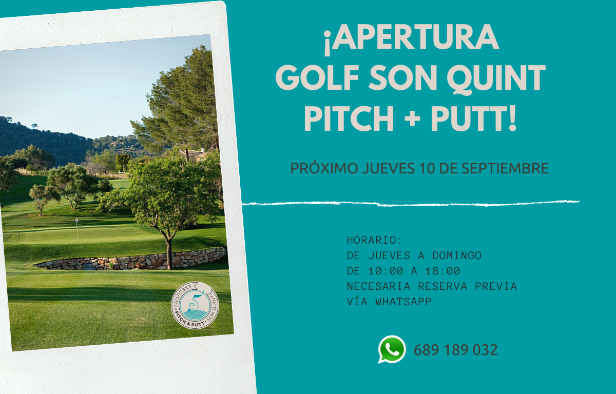 ¡Apertura de Golf Son Quint Pitch + Putt!