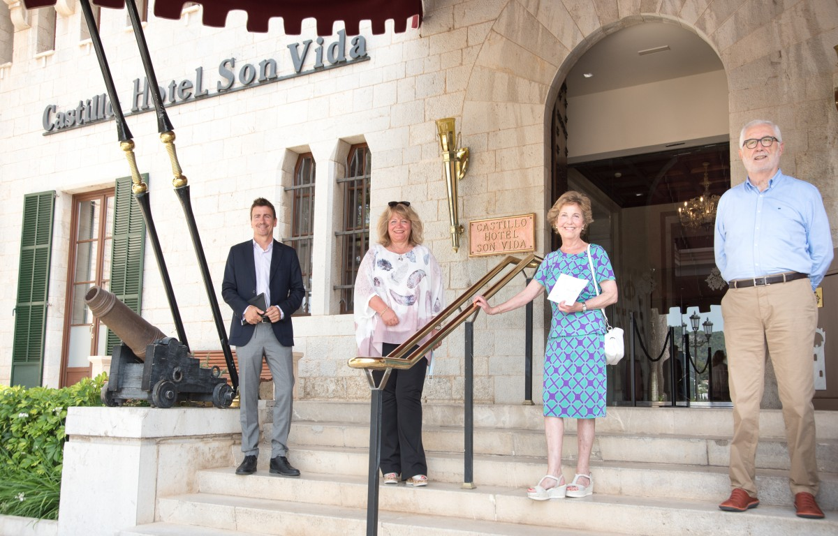 Mallorca Sense Fam and Arabella Hoteles e Inversiones join forces against hunger in Mallorca