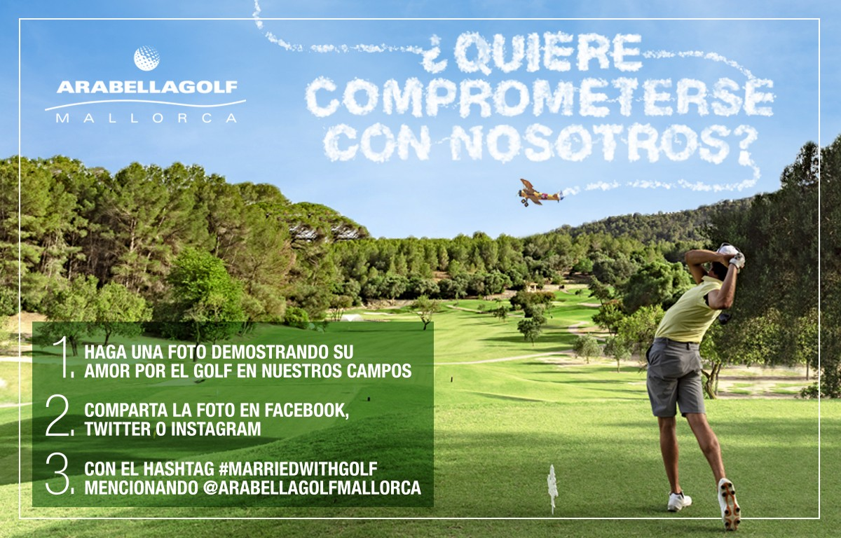 CONCURSO #MARRIEDWITHGOLF