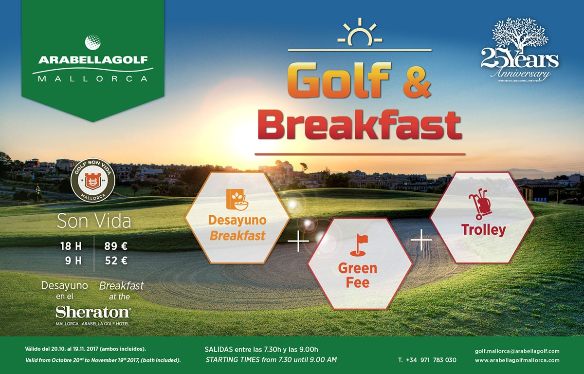 Especial Golf & Breakfast