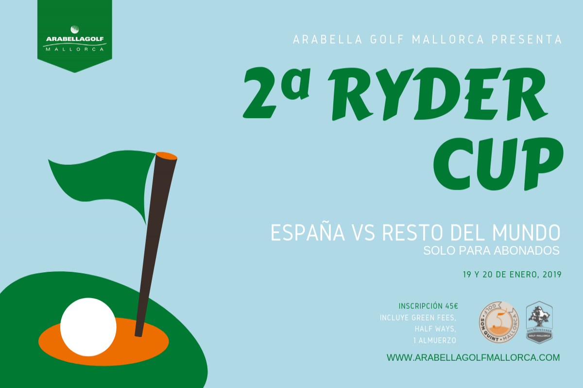 2nd MEMBER'S RYDER CUP SPAIN VS. REST OF THE WORLD