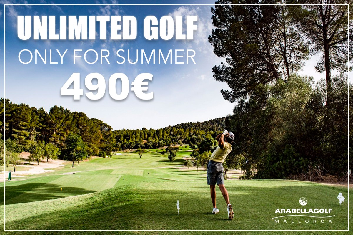 Enjoy an unlimited golf vacation!