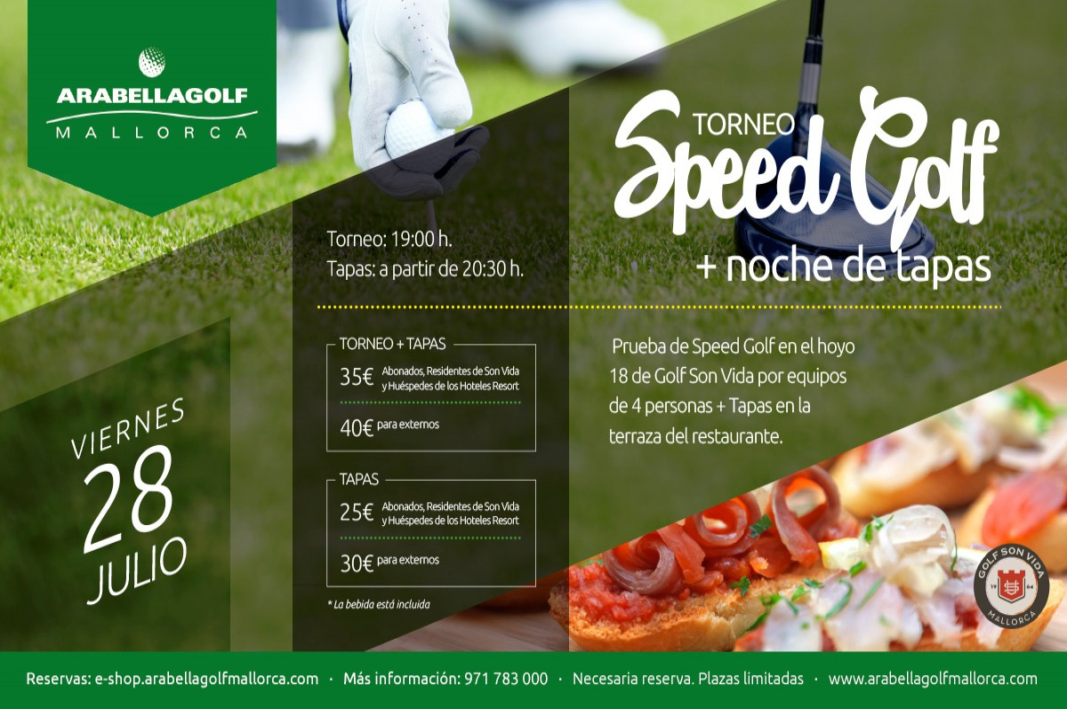 SPEEDGOLF TOURNAMENT & TAPAS NIGHT