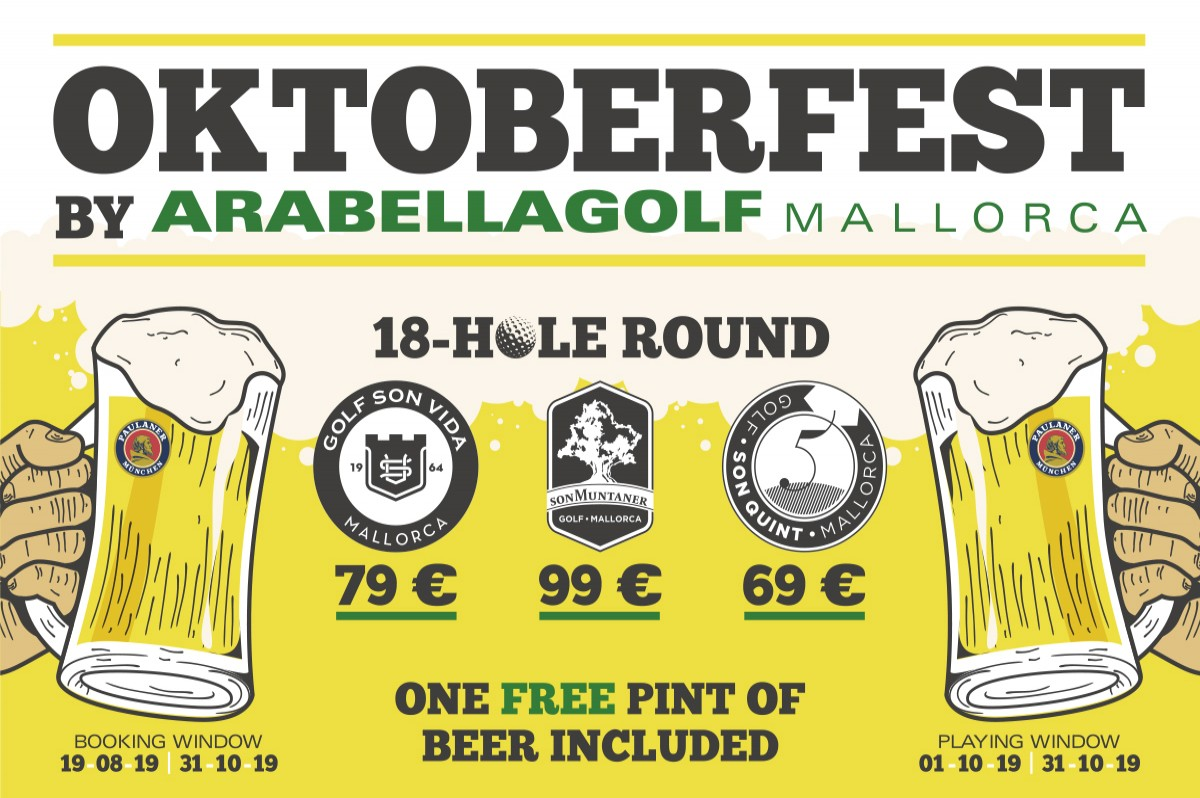 Oktoberfest by Arabella Golf Mallorca