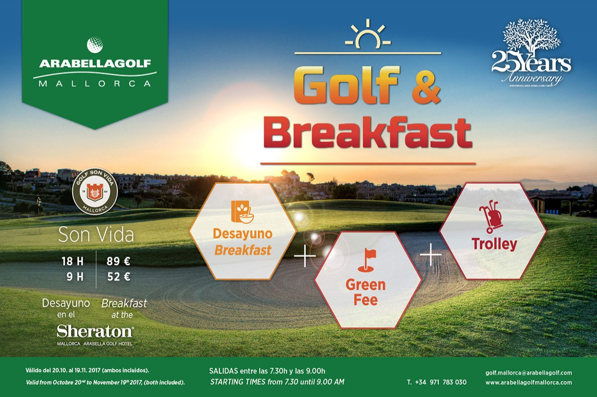 Golf & Breakfast Angebot