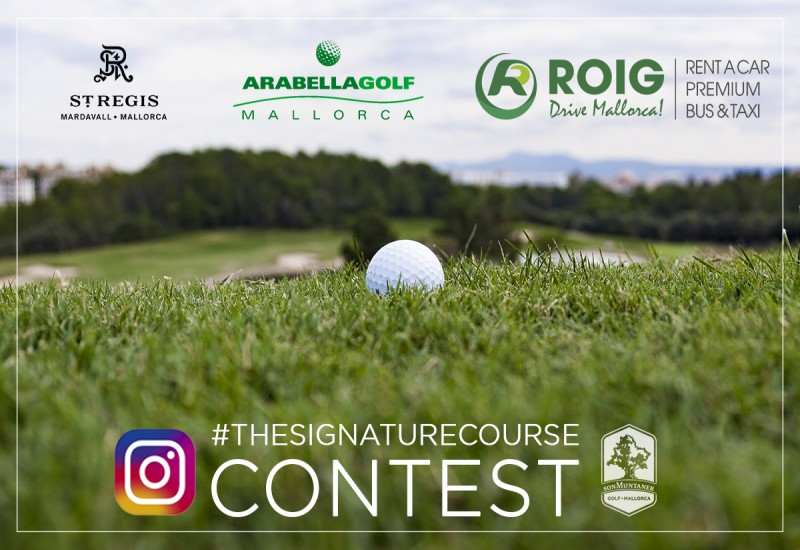 PHOTO CONTEST AT GOLF SON MUNTANER