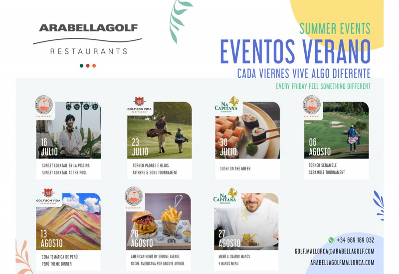 Our summer events are kicking off!