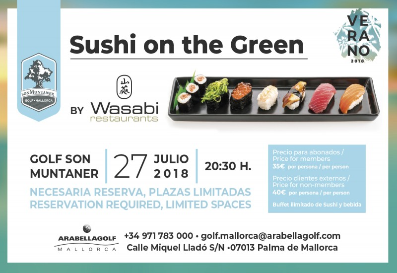 Sushi on the Green 2018