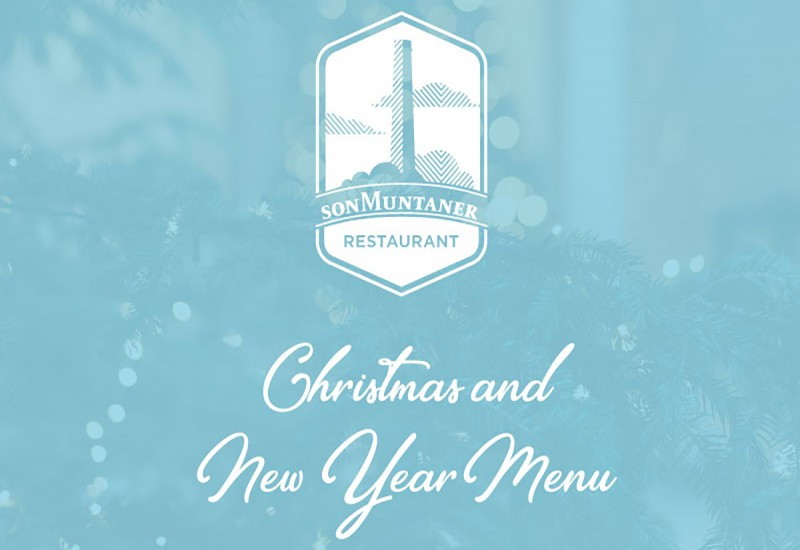 New Year Menu at Restaurant Son Muntaner